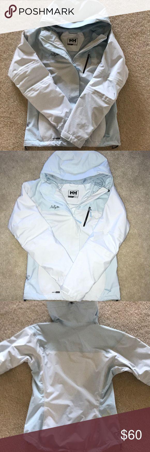 Helly Hansen xs light weight jacket Baby blue, xs, gently worn helly Hansen jacket light weight jacket Helly Hansen Jackets & Coats