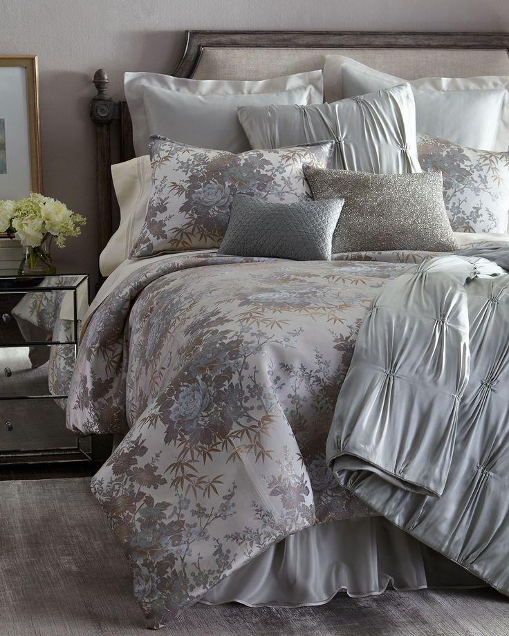 Fino Lino Linen & Lace Geisha Bedding