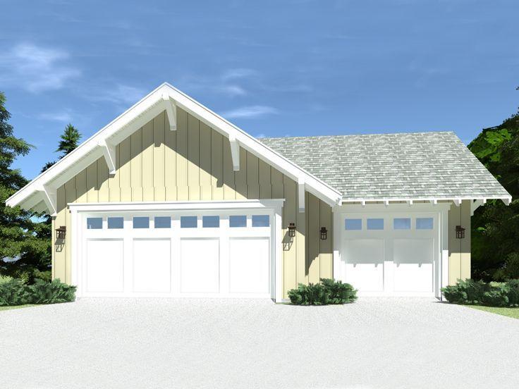 052g 0019 Craftsman Garage Plan 1052 Sf Craftsman House Plans Garage Plan Craftsman House