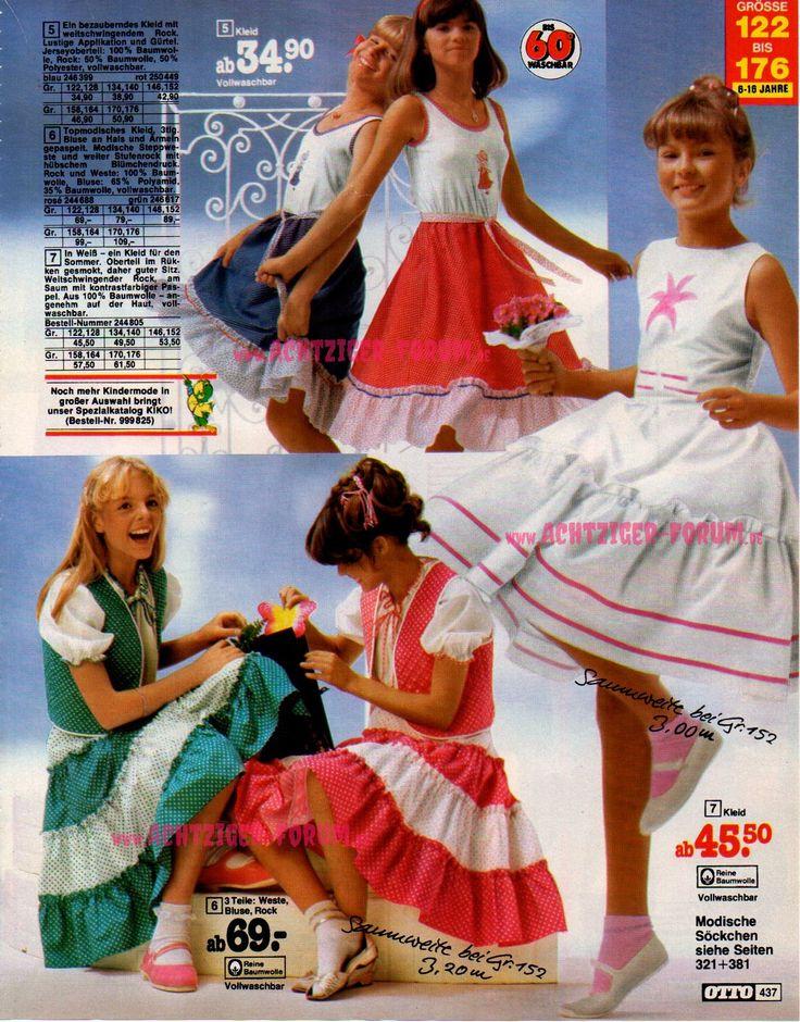 Teenager-Mode Otto-Katalog 1982 (3/7) |