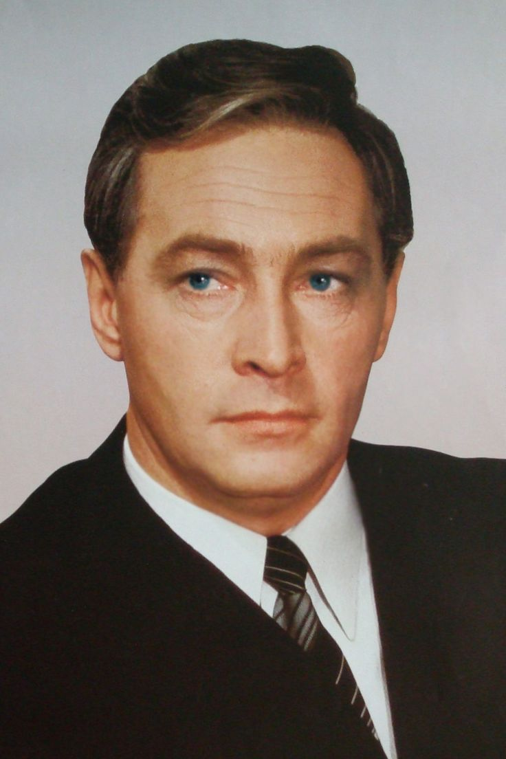 The supremely handsome Russian actor Vyacheslav Tikhonov