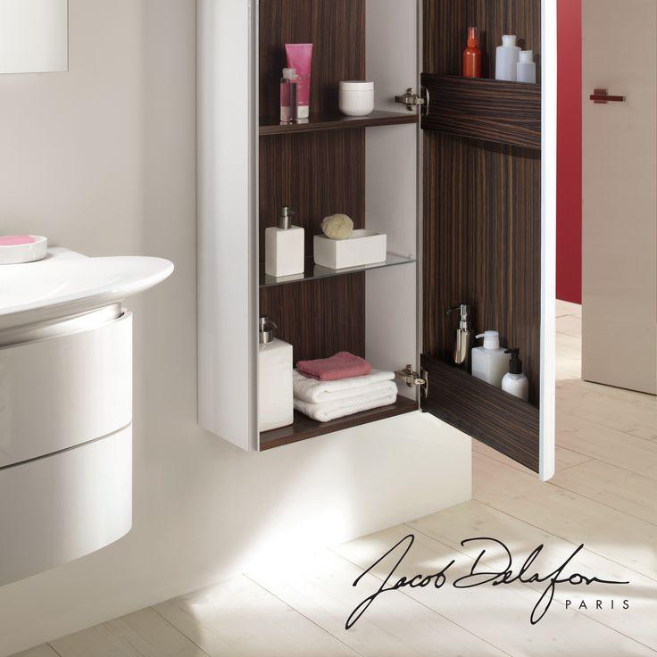 Les 25 meilleures id es concernant colonne de rangement sur pinterest etage - Rangement pratique salle de bain ...