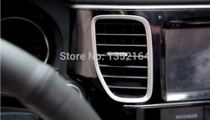 Auto interior air conditioning vent trims for Mitsubishi Outlander 2013 2014 2015,  auto accessories,2pcs