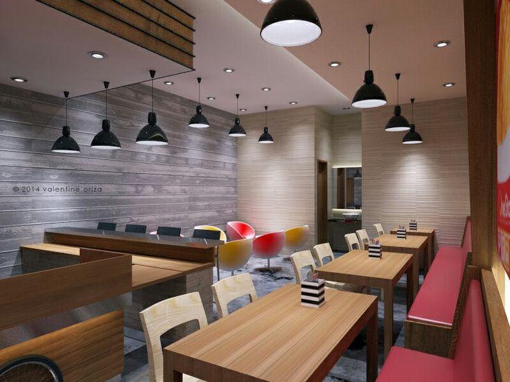 Fast food resto design