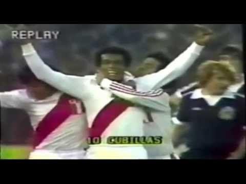 Perú 3 vs 1 Escocia - Mundial Argentina 78 - YouTube