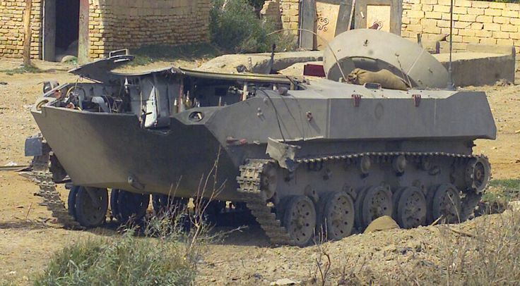 Destroyed Iraqi Army BMD-1 in Northern Iraq, 2 February 2003