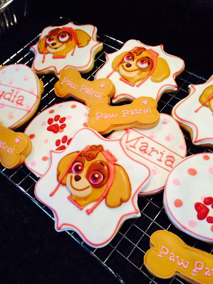 Paw Patrol Cookies Miss Nikki S Cookies Pinterest