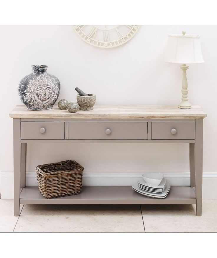 New Hallway Console Cabinet