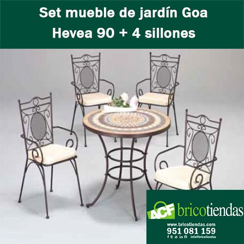 10 best Muebles de jardín - Conjunto muebles de jardín images on ...