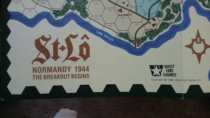 St. Lo - Normandy 1944: The Breakout Begins by West End Games from 1986 #factorytoy