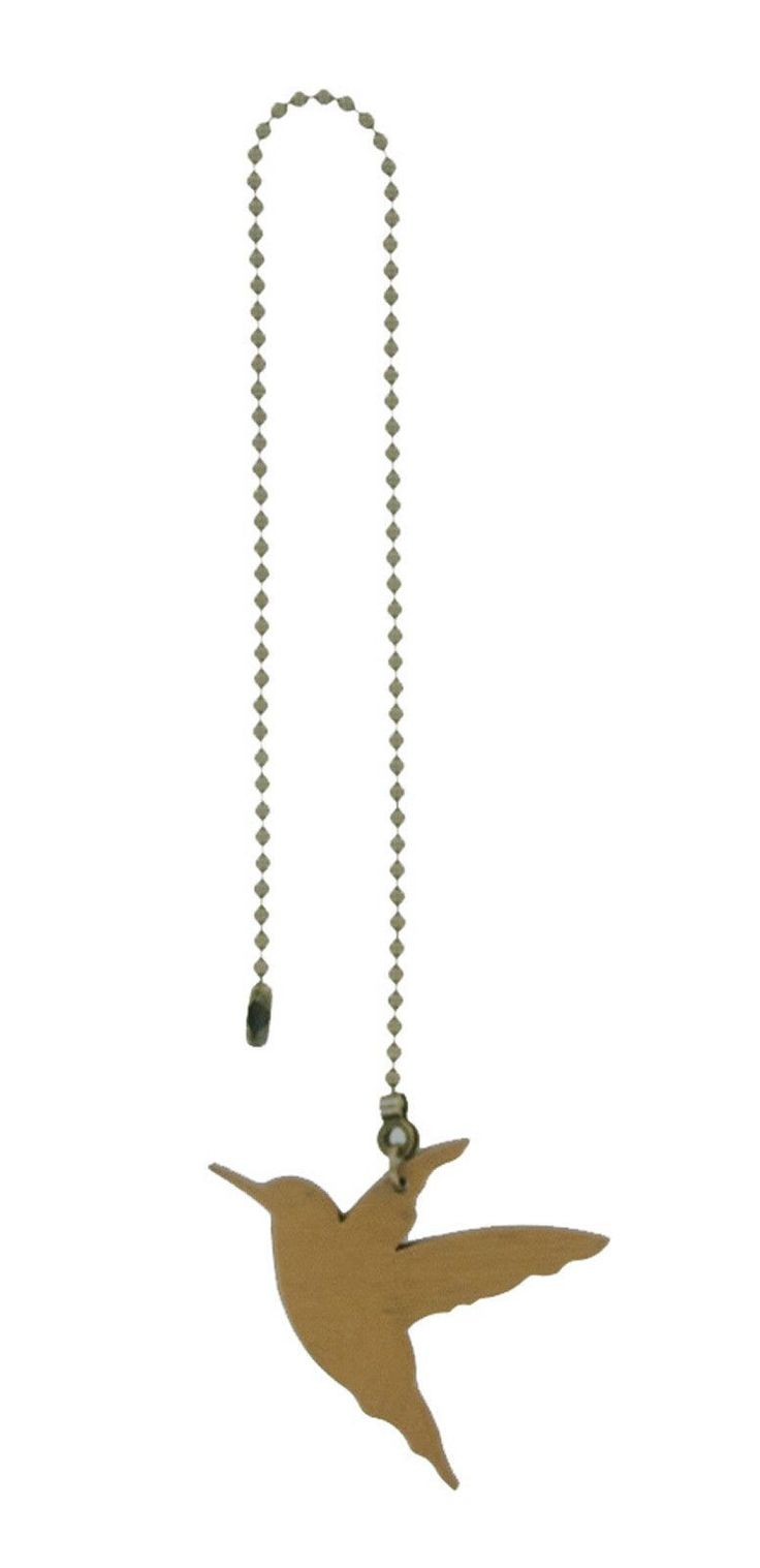 Westinghouse Gold Ceiling Fan Pull Chain With Flying Bird Fun 1,2 &4Pk