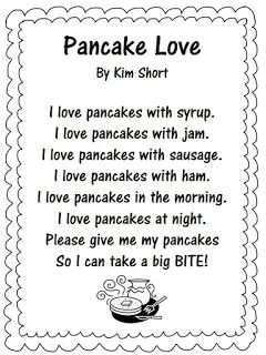 Pancakes Anyone? And One More 2D Shape Activity!