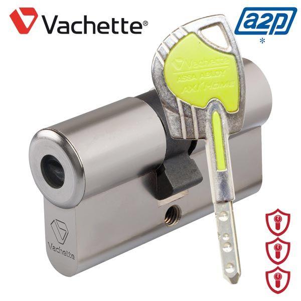 Cylindre Axihome Vachette ASSA ABLOY 7101 2 Entrées - Reproduction de clé protégée à vie par Copyright. Carte de propriété fournie. Disponibles en contacteur, verrous, cylindres à bouton, demi-cylindres. Expédiés par Vachette Directement chez vous sous 10 jours en varié, s'entrouvrant, sur numéro ou en extension d'organigramme.