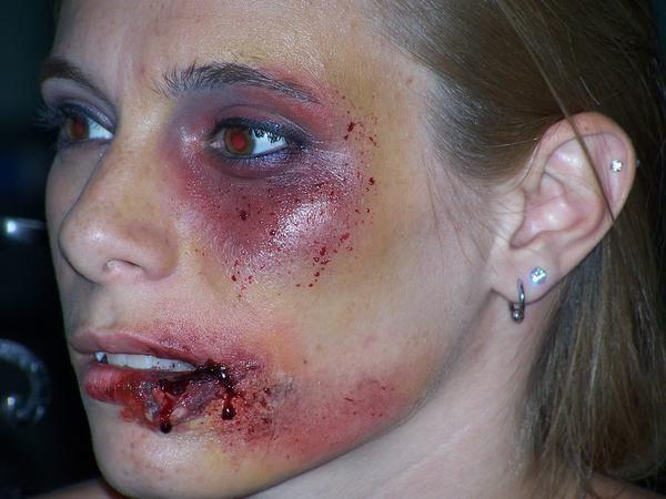 Cuts On Face Google Search Damage Makeup Pinterest