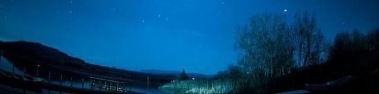 Stars at Llangors Lake