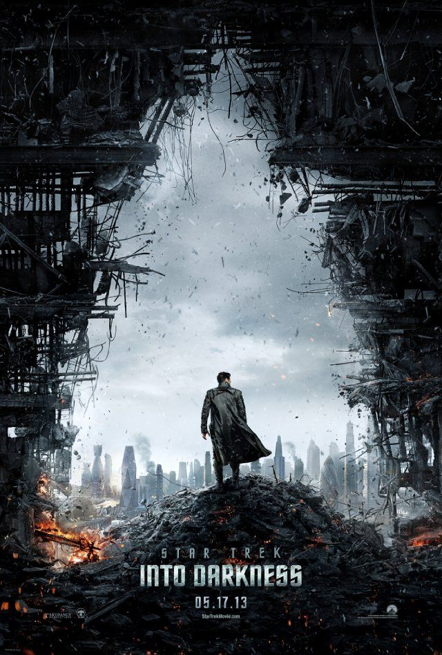 Star Trek: Into Darkness --- WAY better than I had even expected; far better than I had been told by my friends ;)