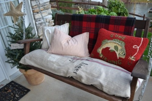 Bag a French Accent with Grain Sacks feature at Houzz.com