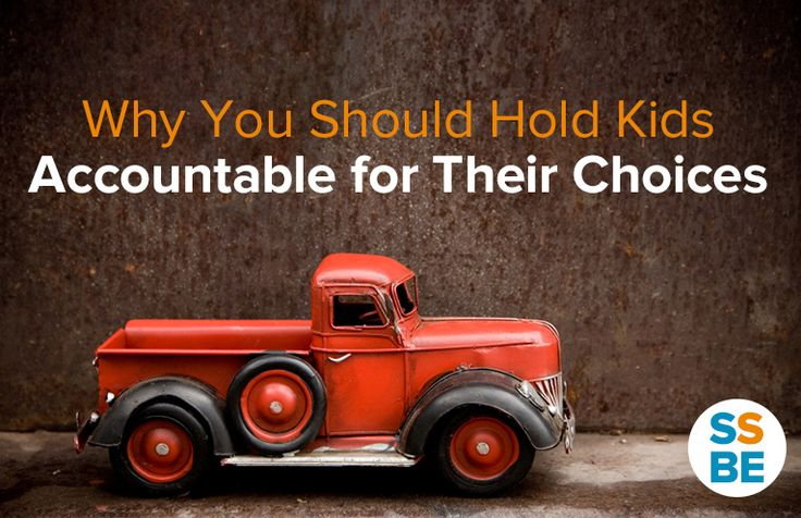 Why You Should Hold Kids Accountable for Their Actions