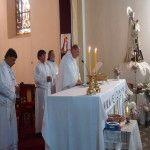 Misa y procesión en honor a la Virgen del Carmen