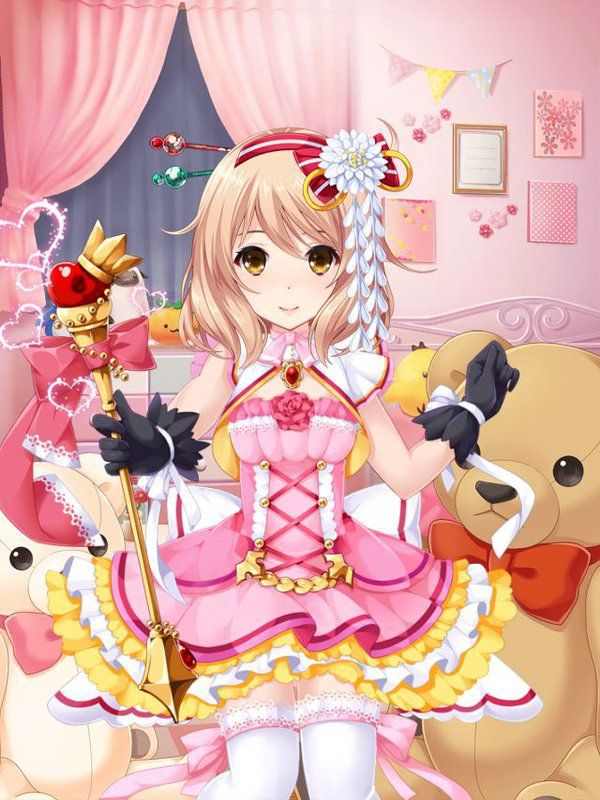 Kawaii girl dating simulator