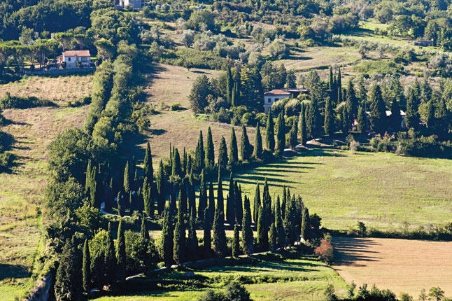 A view of the countryside near Orvieto from via Ripa Medici, on the western edge of the town. So, what is it about central Italian hill-towns like Orvieto? Their appeal goes far beyond the picturesque. Slideshow via Conde Nast Traveller