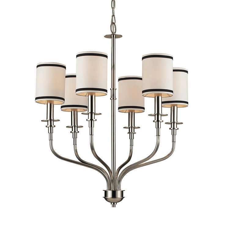 ELK Lighting Tribeca Polished Nickel 1625 6