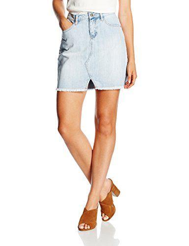 58e31c2cd9 VERO MODA Women s VMCALLIE NW SHORT SKIRT Skirt Blue (Light Blue Denim) 40 (