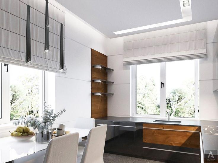 дизайн дома в современном стиле/ дизайн кухни