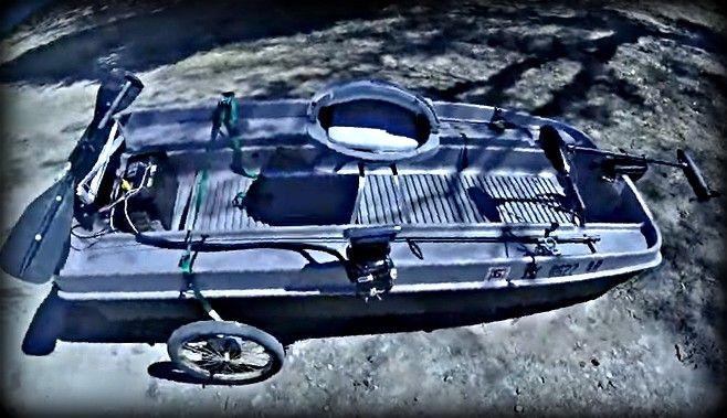 Plastic Mini-Bass Boats Rock!