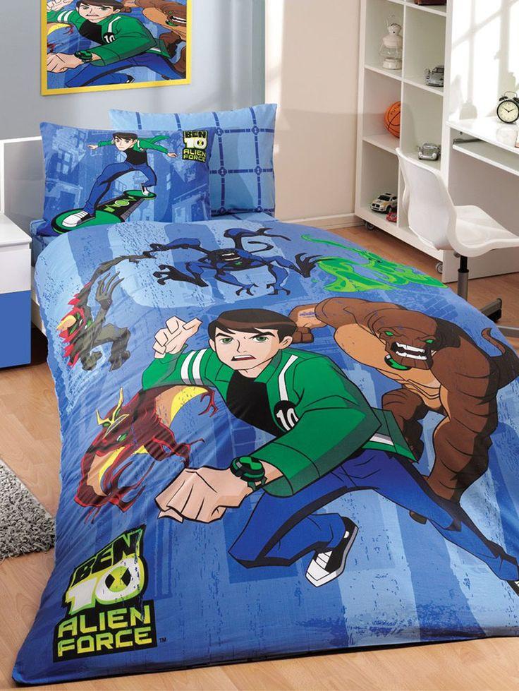12 best boys 39 bedroom ideas images on pinterest boy for Ben 10 bedroom ideas