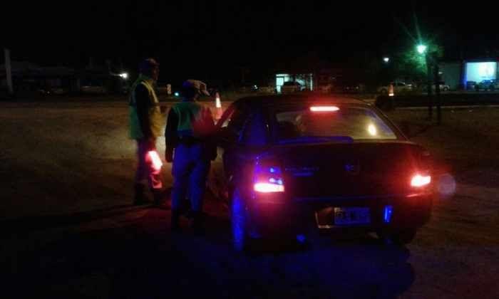 Controles vehiculares en la provincia: En Colonia Barón no hubo casos de alcoholemia