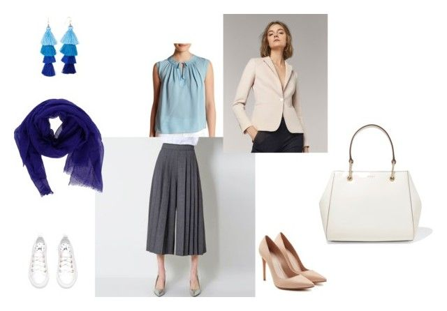 собеседование+боулинг by viktoriaguruleva on Polyvore featuring мода, Rebecca Taylor, Alexander McQueen, DKNY, Taolei, Drakes London and Massimo Dutti
