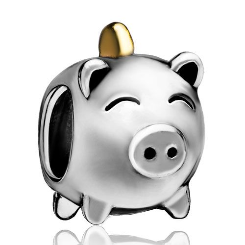 Pugster silver plated pig money box european bead charm bracelets for women: Charms Beads, Pugster Charms, Theme Charms, Metal Charms, Christmas Charms, lovely-beads, Holiday Charms, Gold Charms, Pig, Christmas Gift Charms, Christmas Beads Gift, Halloween Charms, Black Friday Beads, Thanksgiving Beads, Green Monday Beads, DPC1568