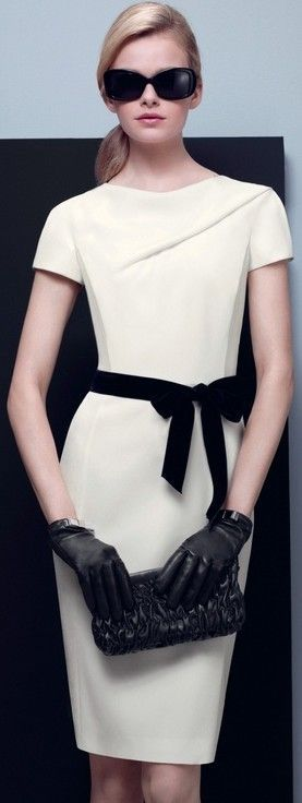 Black and white fashion ♥✤ | Keep the Glamour | BeStayBeautiful - Very classy.
