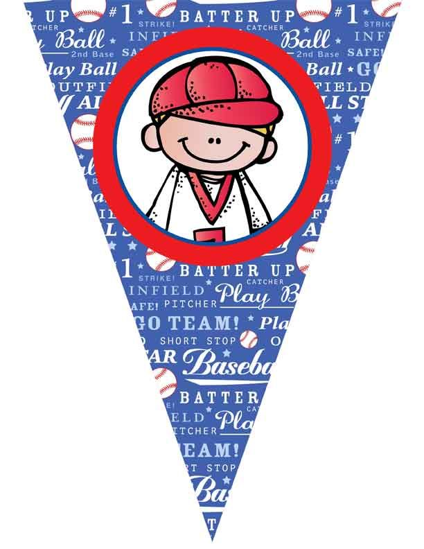 BASEBALL Theme Decor / Create-A-Banner / JPEGS and MS WORD / ARTrageous FUN /  graphics by Melonheadz