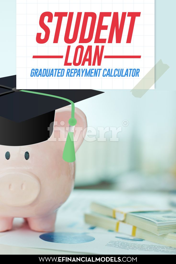 Student loan - Graduated Repayment Calculator