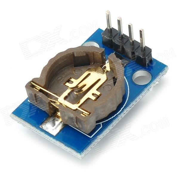 DS3231 High Precision IIC Clock Module - Deep Blue (1 x CR1220)