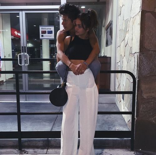 maia mitchell, couple, and rudy mancuso image