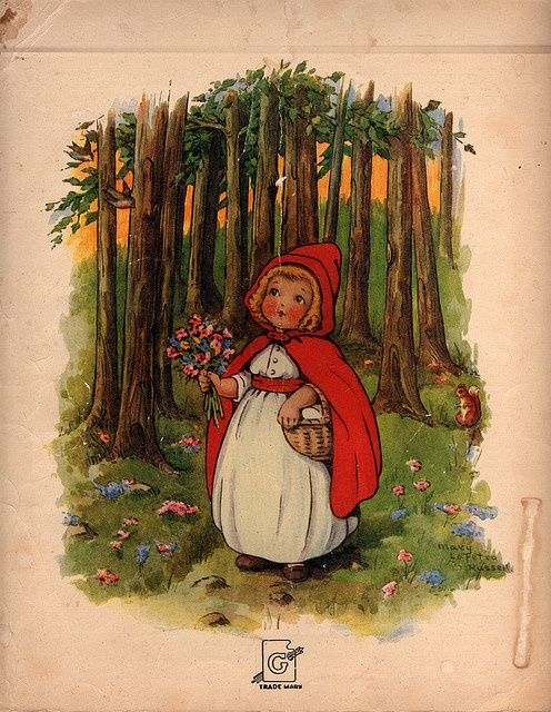 Little Red Riding Hood   by mimi_1993, via Flickr