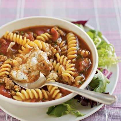 Lasagna Soup Cant wait for the weather to cool off a little