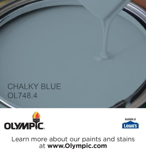 CHALKY BLUE OL748.4 is a part of the blues collection by Olympic® Paint.