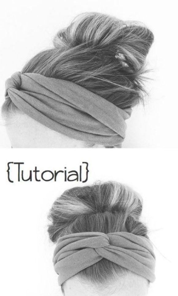Easy DIY Twisted Headband