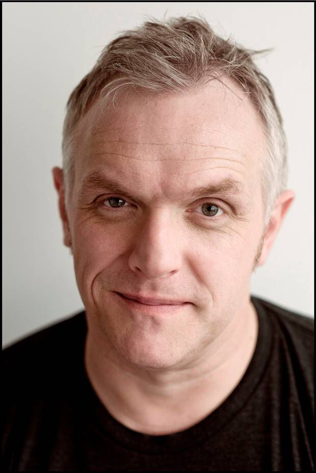 Greg Davies ( reminder to me that Man Down re-starts on Monday, otherwise I'll totally forget!)