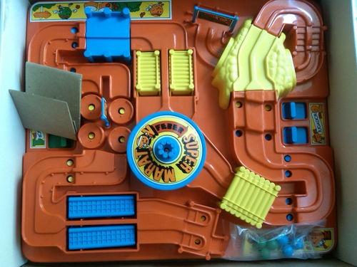 juego SUPER MARATON de Feber juguetes NUEVO años 80 ' juego de mesa para 2 niñ@S