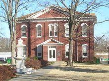 Cherokee Nation Historic Courthouse in Tahlequah, built in 1849, is the oldest public building standing in Oklahoma.