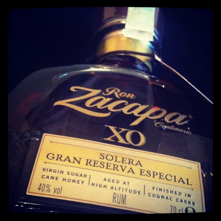 Ron Zacapa XO. Everyone knows :)