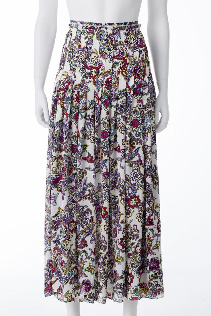 Jupe a imprimés Paisley, BANANA REPUBLIC, 170$ * Paisley print skirt, BANANA REPUBLIC, $170