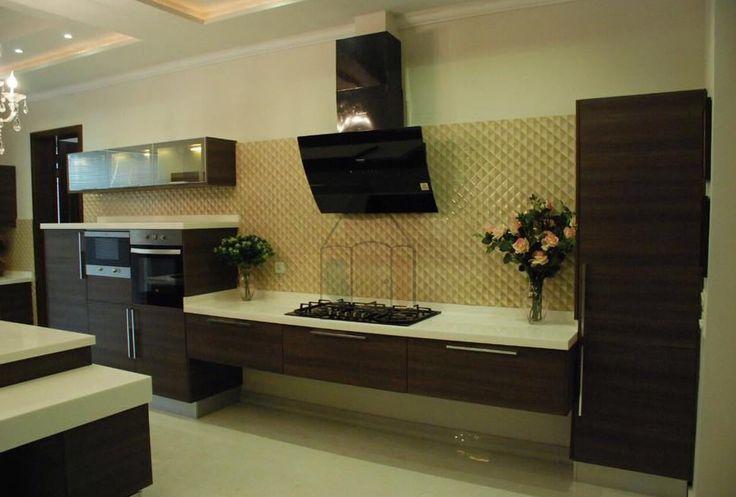 i shaped kitchen design