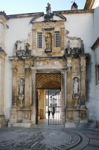 Porta Férrea.University of Coimbra.Portugal. The University of Coimbra (UC) is a Portuguese public university in Coimbra, Portugal. Established in 1290, it is one of the oldest universities in continuous operation in the world, the oldest university of Portugal, and one of its largest higher education and research institutions.