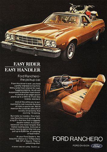 1973 Ford Ranchero 500 Pickup